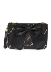 Karl Lagerfeld Kris Bow Printed Crossbody Bag
