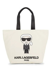 Karl Lagerfeld Kristen Canvas Tote
