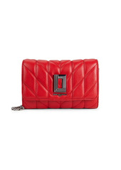 Karl Lagerfeld Lafayette Quilted Leather Crossbody Bag