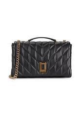 Karl Lagerfeld Lafayette Quilted Leather Shoulder Bag