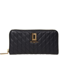 Karl Lagerfeld Lafayette Small Leather Good Wallet
