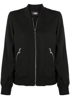 Karl Lagerfeld Legend jacquard bomber jacket