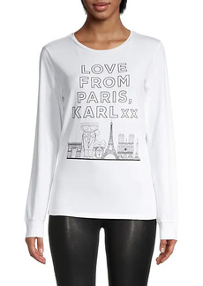 Karl Lagerfeld Live From Paris T-Shirt