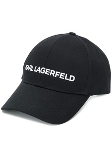 Karl Lagerfeld logo embroidered cap