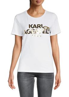 Karl Lagerfeld Logo Graphic T-Shirt