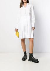 Karl Lagerfeld logo sleeve dress