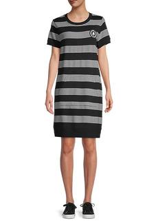 Karl Lagerfeld Striped T-Shirt Dress