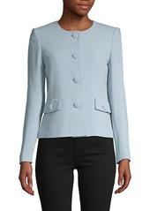Karl Lagerfeld Long-Sleeve Roundneck Jacket
