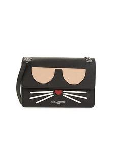 Karl Lagerfeld Maybelle Choupette Flap Shoulder Bag