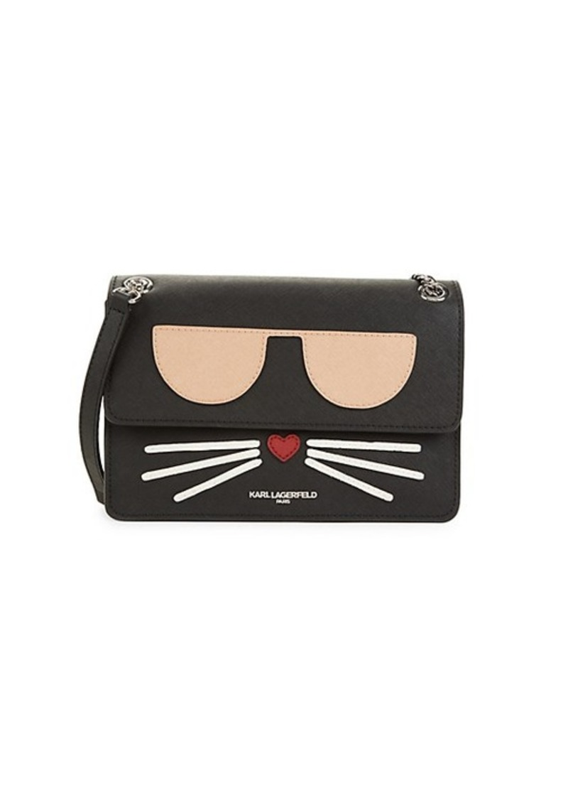 Karl Lagerfeld Maybelle Choupette Flap Shoulder Bag