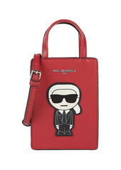 Karl Lagerfeld Maybelle Faux Leather Crossbody Bag