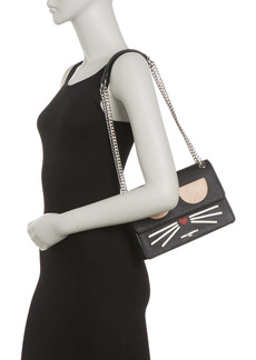 Karl Lagerfeld Maybelle Flap Shoulder Bag