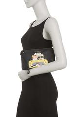 Karl Lagerfeld Maybelle Printed Zip Wristlet Wallet