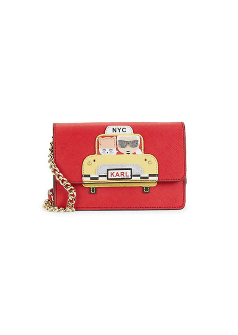 Karl Lagerfeld Maybelle Taxi Crossbody