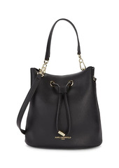 Karl Lagerfeld Mini Faux Leather Bucket Bag