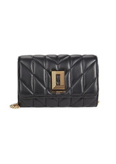Karl Lagerfeld Mini Leather Crossbody Bag