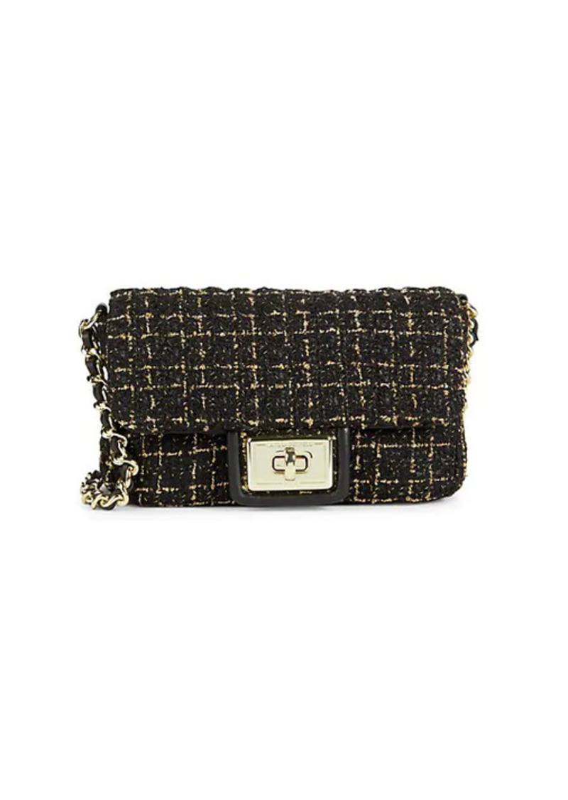 Karl Lagerfeld Agyness Boucle Crossbody