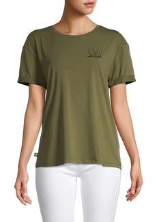 Karl Lagerfeld Mirror Profile Graphic T-Shirt