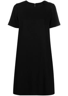 Karl Lagerfeld pleated back shift dress