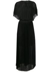 Karl Lagerfeld pleated maxi dress