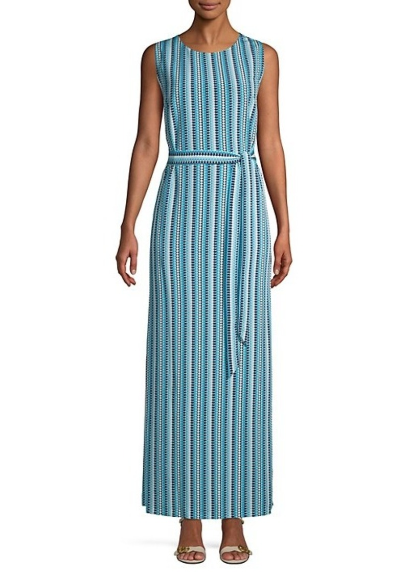 Karl Lagerfeld Printed Maxi Dress