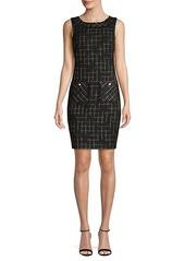 Karl Lagerfeld Printed Mini Dress