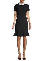 Karl Lagerfeld Short-Sleeve Mini Dress