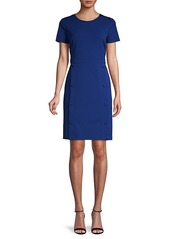 Karl Lagerfeld Short-Sleeve Sheath Dress