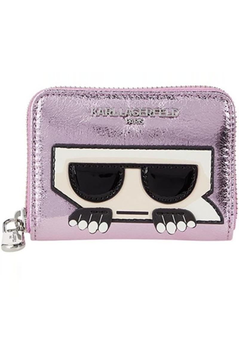 Karl Lagerfeld SLG Small Zip Around Wallet