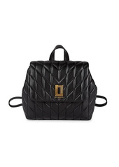 Karl Lagerfeld Lafayette Leather Backpack