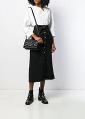 Karl Lagerfeld small K/Signature shoulder bag