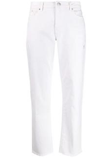 Karl Lagerfeld straight leg cropped jeans