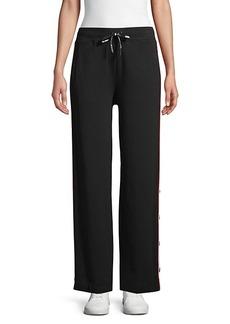 Karl Lagerfeld Striped Pull-On Sweatpants
