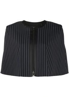Karl Lagerfeld STUDIO KL pinstripe cape jacket