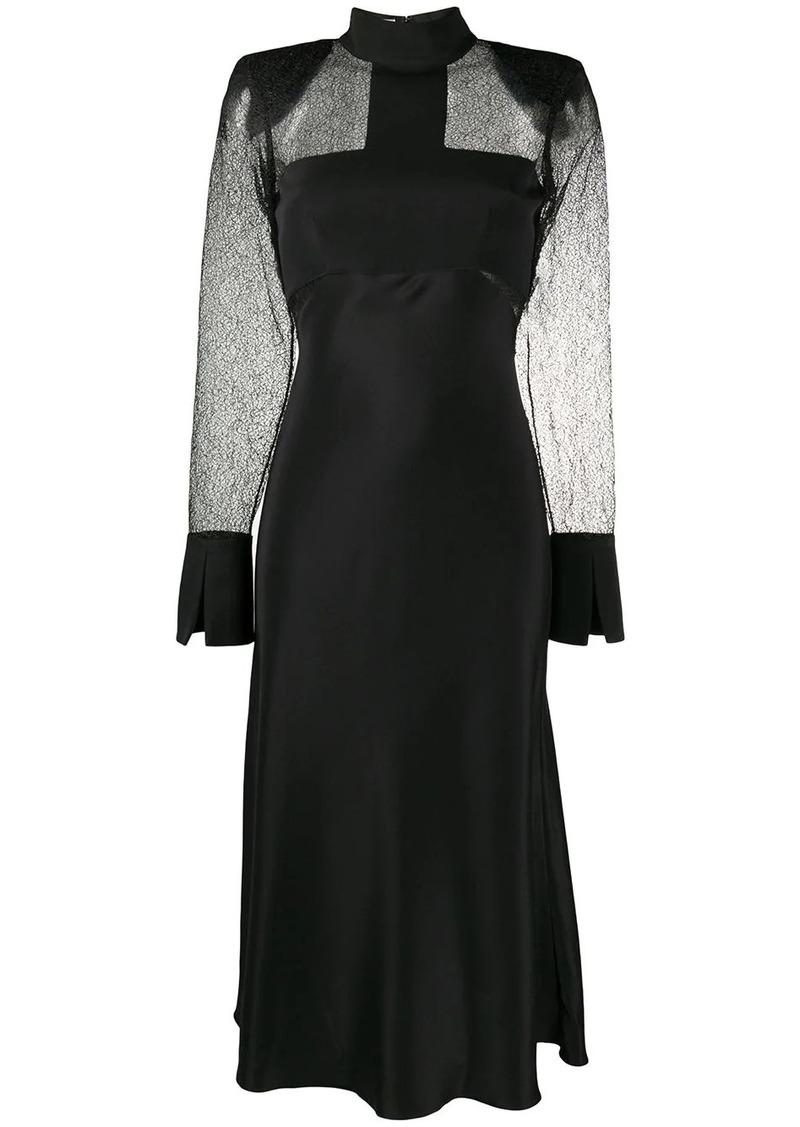 Karl Lagerfeld STUDIO KL sheer panel dress