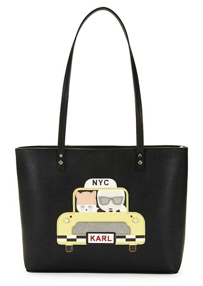 Karl Lagerfeld Taxi Maybelle Tote