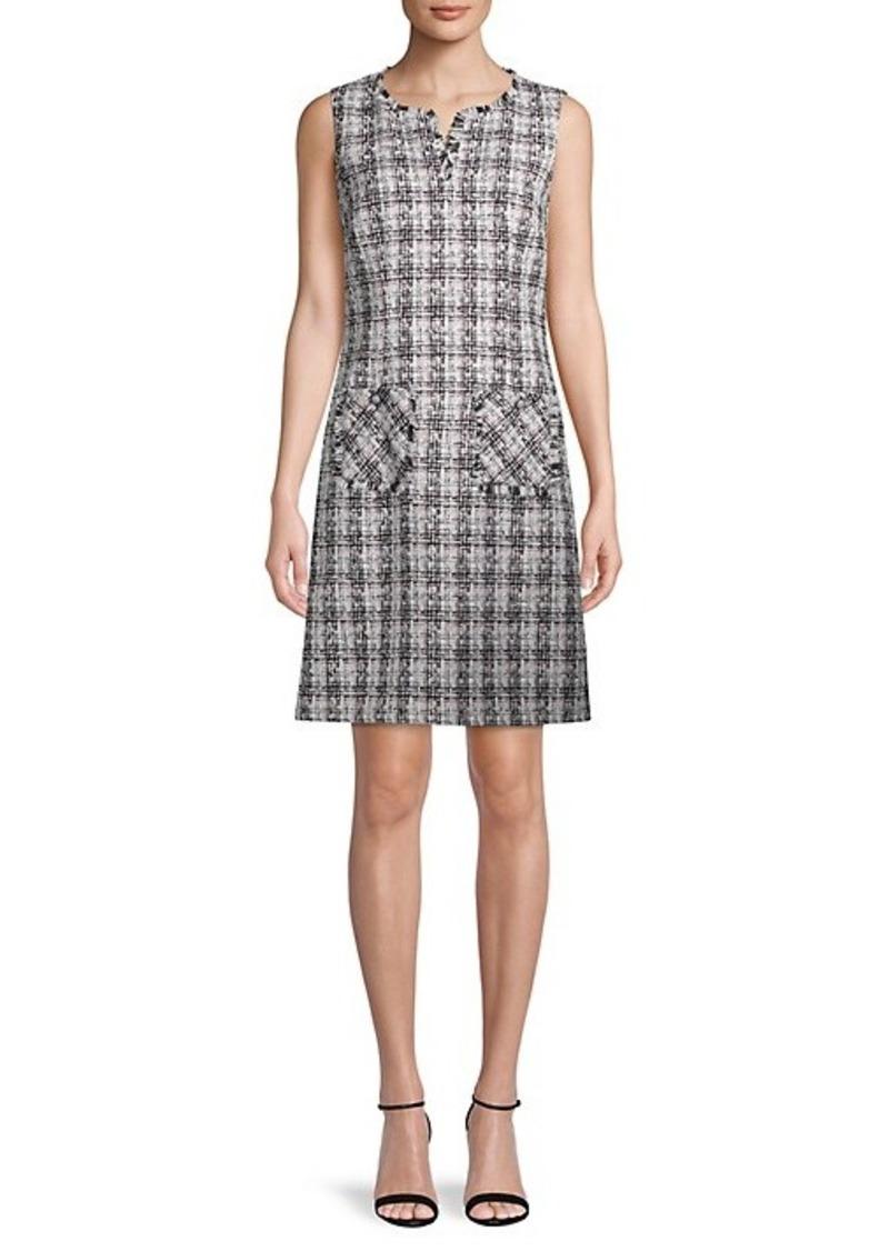 Karl Lagerfeld Tweed Shift Dress