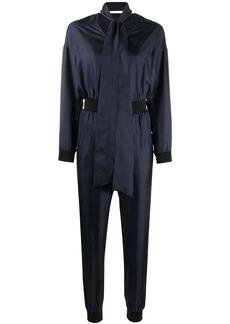 Karl Lagerfeld V-neck zipped jumpsuit