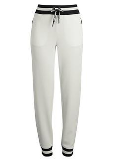 Karl Lagerfeld Varsity-Striped Jogger Pants