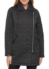Karl Lagerfeld Water-Resistant Textured Jacket