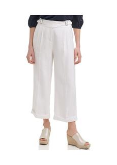 Karl Lagerfeld Paris Wide Leg Dobby Stripe Pants