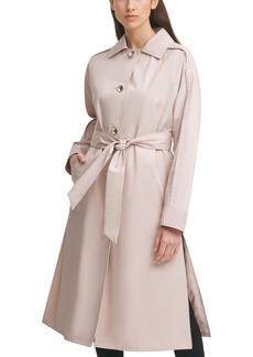Women's Karl Lagerfeld Paris Dolman Sleeve Trench Cotton Blend Coat