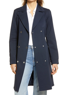Women's Karl Lagerfeld Paris Double Breasted Trench Coat