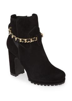 Women's Karl Lagerfeld Paris Lark Chain Platform Bootie