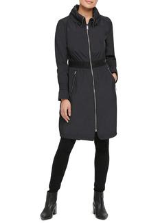 Women's Karl Lagerfeld Paris Long Windbreaker Jacket