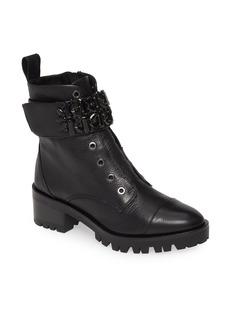 Women's Karl Lagerfeld Paris Pippa Crystal Embellished Platform Boot