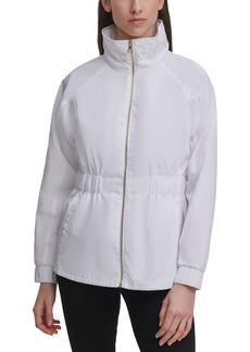 Women's Karl Lagerfeld Paris Water Resistant Windbreaker Jacket