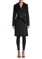 Karl Lagerfeld Wool-Blend Coat