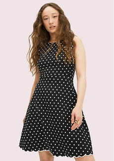 Kate Spade Cabana Dot Ponte Dress