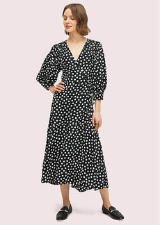 Kate Spade Cloud Dot Wrap Dress